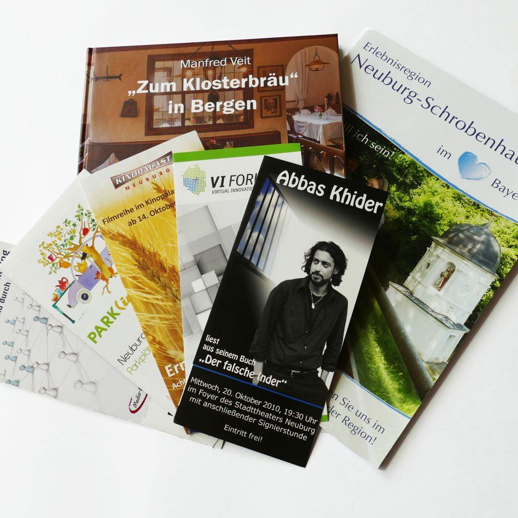 Druck Print Fotografie Werbeagentur Euringer und Klose Neuburg